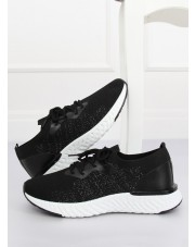 Buty sportowe czarne BL164P BLACK