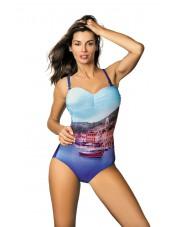 Kostium kąpielowy Valentina Royal Blue M-439 (1) 42990