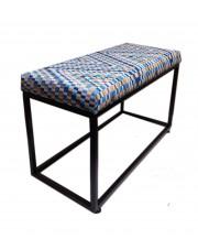 Ławka industrialna metalowa  siedziska do przedpokoju salonu