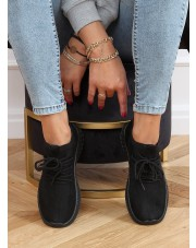 Buty sportowe skarpetkowe czarne PC01 ALL BLACK
